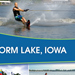 Storm Lake United - Left Side Standing Retractible Tradeshow Banner