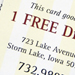 Legacy Steakhouse Free Drink Cards