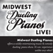 Midwest Dueling Pianos Live Flyer