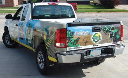Hultgren Implement Vehicle Wrap