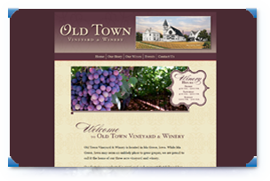 View Old Town Vineyard and Winery's Website